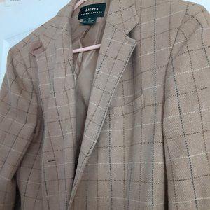 Ralph Lauren 100% Wool Tweed Blazer - Size 12